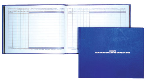 Pooleys Microlight Airframe & Engine Log Book